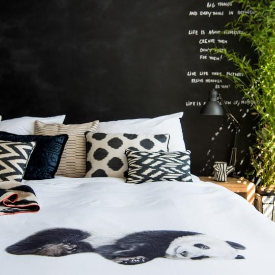 Snurk Bettwäsche Garnitur PANDA 160x210+65x100 cm