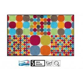 Fussmatte Mikado Big Dots 75x120 cm