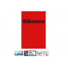 Fussmatte Willkommen Wasch+dry 75x120 cm