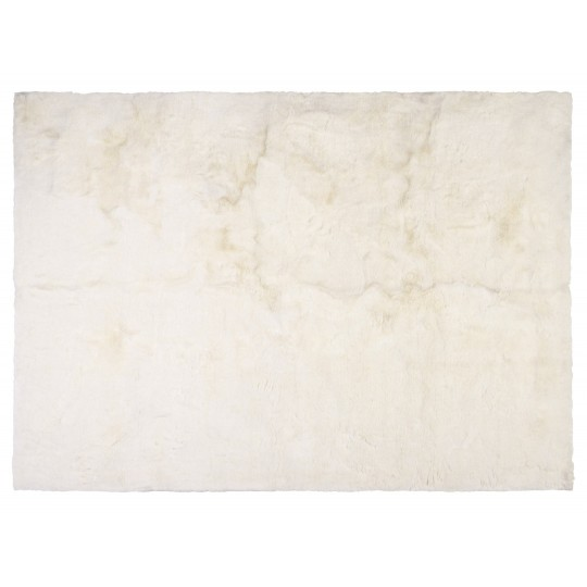Winter Home Fellimitat Teppich White Mink ca. 70x150 cm Weiss