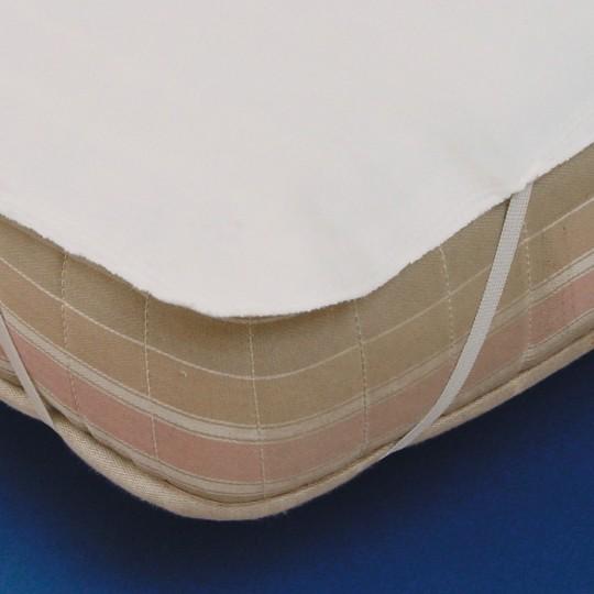 Matratzenauflage mit 4 elast. Bändern