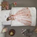 Kinderbettwäsche Snurk Prinzessin 160x210 / 65x100 cm