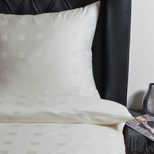 Hefel Luxus Bettwäsche Würfelmuster