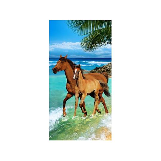 Strandtuch Jungpferd 76x152 cm