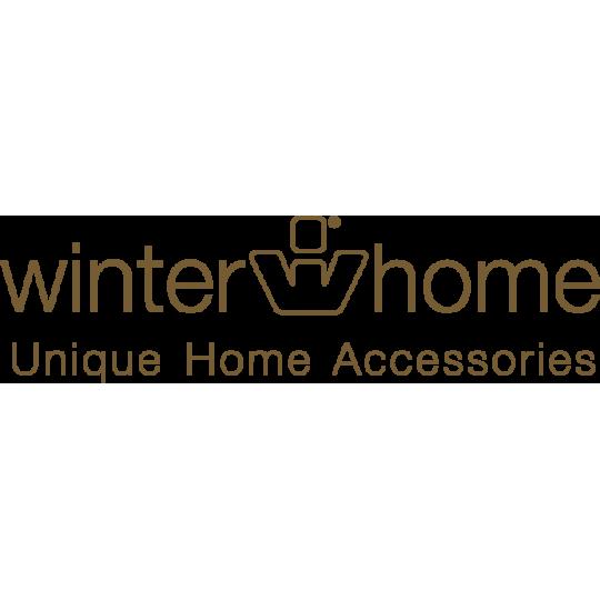 Winter Home Fellimitat Geschenk-Beutel Curlywhite 30cm