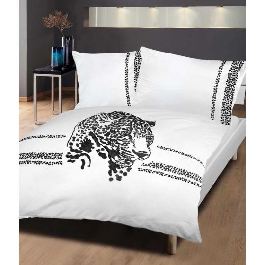 Bettwäsche mit Stickerei Leo Spirit Tiger