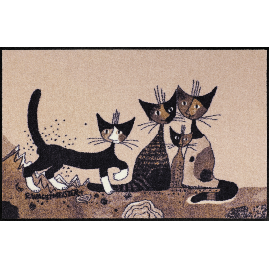 Fussmatte Serafino & Friend 75x120 cm