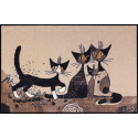 Fussmatte Serafino und Friends 50x75 cm