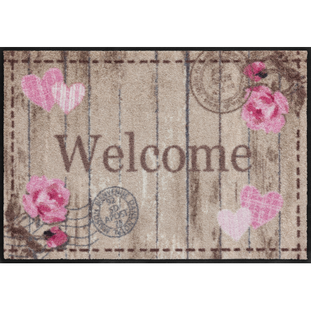 Fussmatte Welcome Roses 50x75 cm