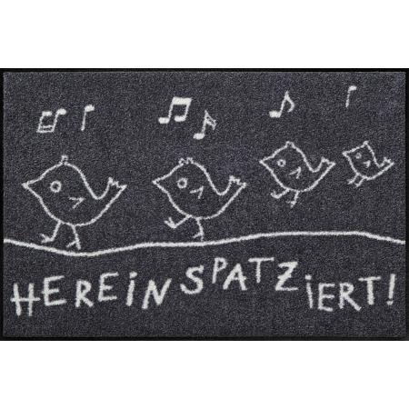 Fussmatte Hereinspatziert 50x75 cm