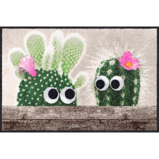 Fussmatte Kaktus Freunde 50x75 cm