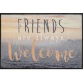 Fussmatte Welcome Friends 50x75 cm
