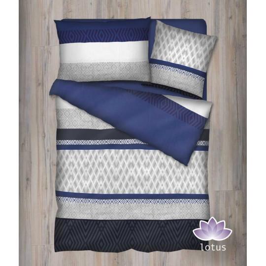 Bettwäsche Satin TAYO blau